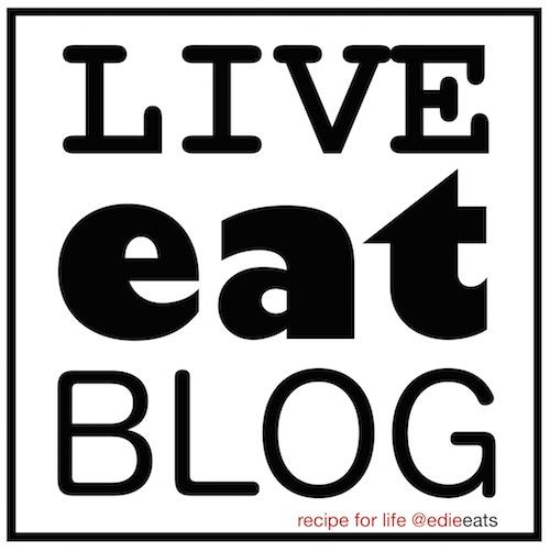live eat blog  - a life recipe by edie eats food blog - Edith Dourleijn