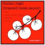 italian ragu recipe and illustration by Edith Dourleijn for Edie eats Food Blog